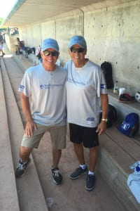 Former Mets manager Bobby Valentine is seen during a charity softball game. Photo from Barbara Catalanotto