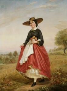 'Returning from the Orchard,' 1862 by William Sidney Mount