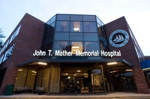 John T. Mather Memorial Hospital in Port Jefferson. File photo