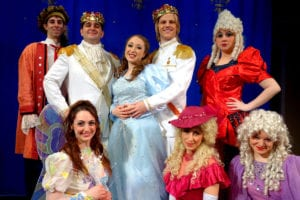 The cast of 'Cinderella' at Theatre Three. Photo by Peter Lanscombe, Theatre Three Productions Inc.