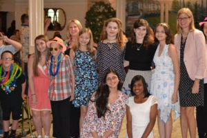 Councilwoman Jane Bonner, on right, attended the North Shore Youth Council reception at Majestic Gardens in celebration of the positive influence the program has on North Shore kids. Photo by Alex Petroski