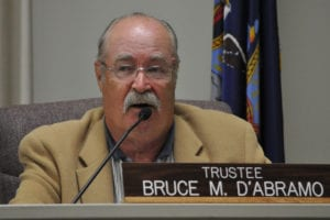 Bruce D'Abramo is running for re-election. Photo by Elana Glowatz
