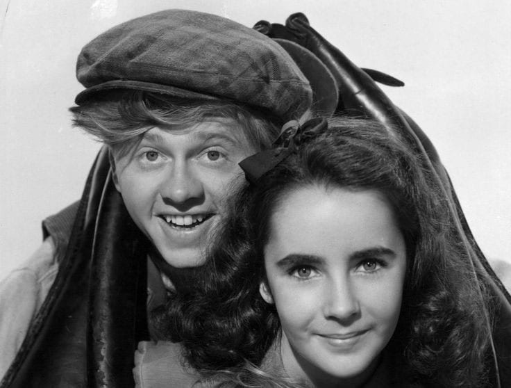 Mickey Rooney and Elizabeth Taylor star in 'National Velvet.' Photo from the WMHO