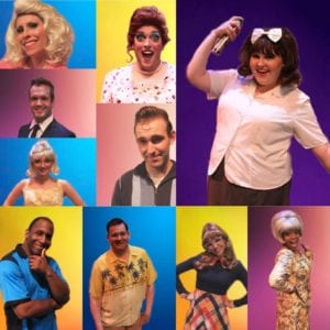 The cast of 'Hairspray.' Photo courtesy of SCPA